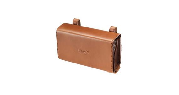 Brooks D-Shaped Saddle Bag honey